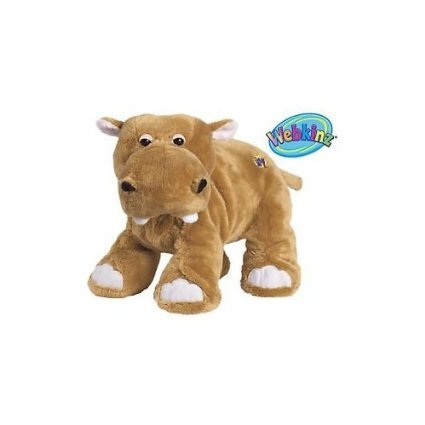 Webkinz Mud Hippo with Trading Cards