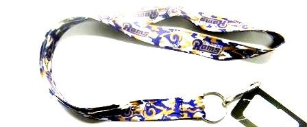 St. Louis Rams Camouflage Lanyard in Team Colors at Amazon.com