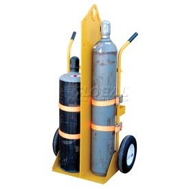 Fire Protection Welding Cylinder Cart Foam Filled Wheels 35-1/2x23-1/16 X 66-1/2