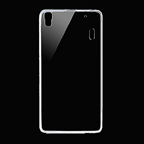 Accedere Premium Transparent clear white Silicon Flexible Soft TPU Slim Back Case Cover For Lenovo K3 Note  available at amazon for Rs.99