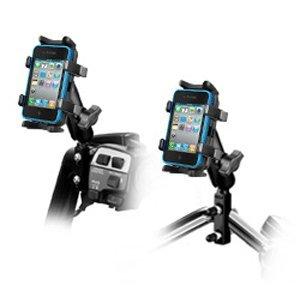 ram-mounts-ram-b-174-un4u-combination-brake-clutch-reservoir-u-bolt-mount-with-universal-finger-grip