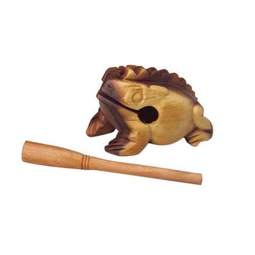 """4"""" Wooden Frog Guiro"""