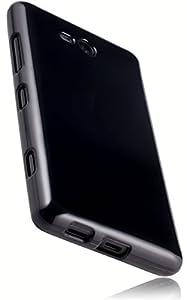 mumbi TPU Silikon Schutzhülle Nokia Lumia 820 Hülle schwarz