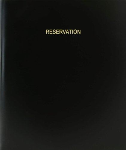BookFactory® Reservation Log Book / Journal / Logbook - 120 Page, 8.5