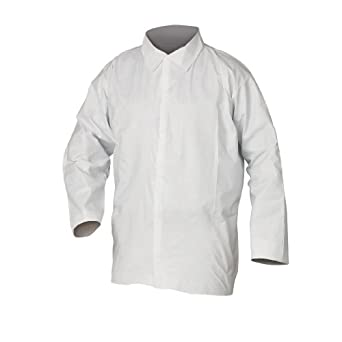 Kimberly-Clark KleenGuard A20 White Medium Select Breathable Particle Protection Shirts 36212 (50 per Case)