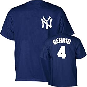 Lou Gehrig Yankees MLB Prostyle Player T-shirt