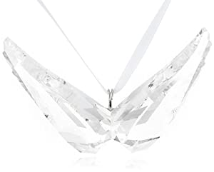 Swarovski Angel Wings Christmas Ornament