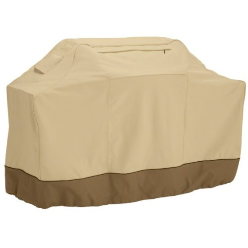 Medium 58 Inch Gas Grill Cover - Barbeque Grill Covers Weber (Genesis), Holland, Jenn Air, Brinkmann, Char Broil, & More. Thick Heavy Duty Premium BBQ Grill Cover Includes 90 Day No Questions Asked Mo