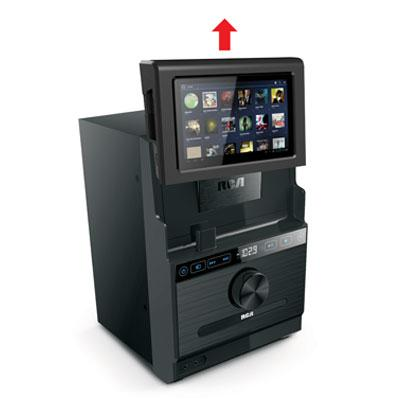 Amazon.com: RCA Home Stereo System w/ Removable 7-inch Android Tablet