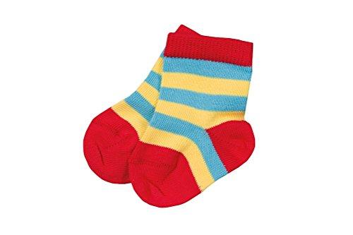 Chaussettes-pour-bb-Multicolore-Taille-5662-coton-bio