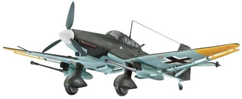 Revell of Germany Junkers JU 87 G/D Tank Buster Plastic Model Kit