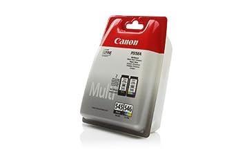 Canon Pixma MG 2555 - Original Canon 8287B005 / PG545/CL-546 - Cartouche d'encre Multipack (BK,C,M,Y) - 1x 180 & 1 x 180 pages