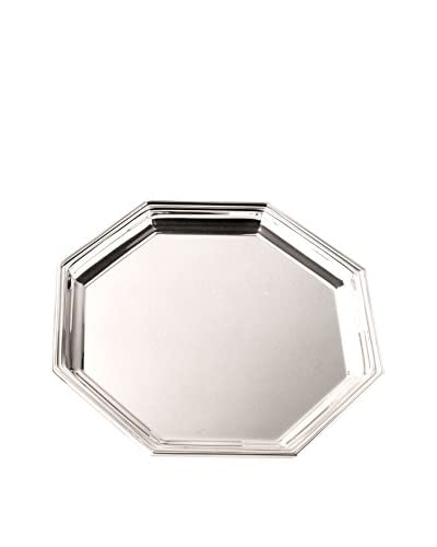 Cunill Silver-Plated Octagonal Tray