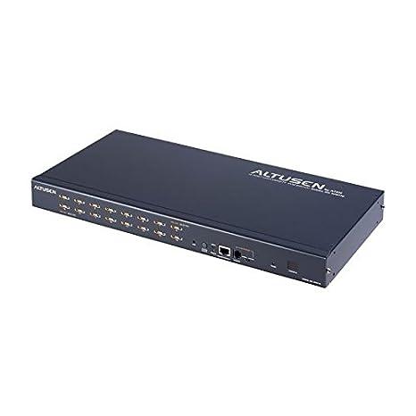 Altusen KH0116 Commutateur KVM Haute densité à 16 ports Noir