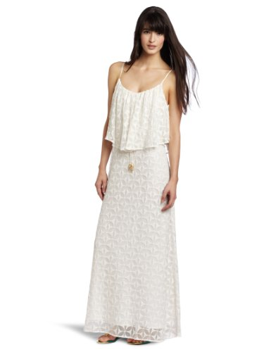 Tt Collection Women's Jilla Maxi Dress, White, Small
