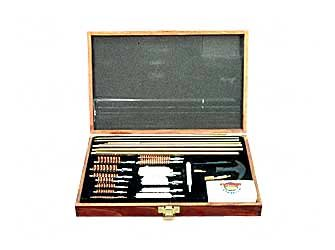 Universal 27-pc. Cleaning Kit with Wooden Case