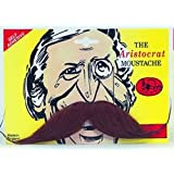 Aristocrat Moustache Brownby Pams