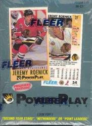 1993 94 Fleer Power Play Series 1 Hockey Cards Unopened Hobby Box