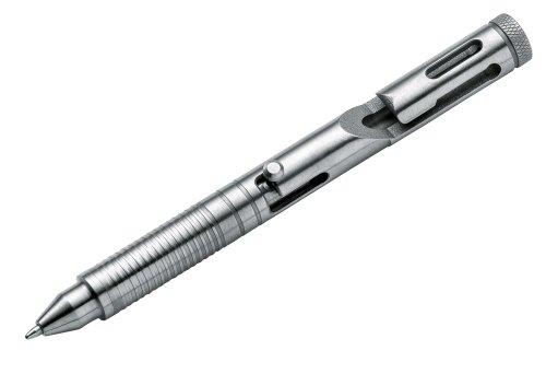 BOKER PLUS Titanium Tactical Pen, Silver