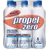 Propel Zero Peach Fitness Water, 16.9 OZ (Case of 4)