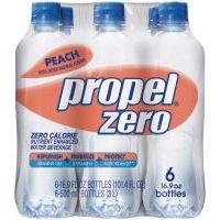 Propel Zero Peach Fitness Water, 16.9 OZ (Case of 4)