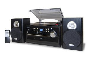 3-Speed-Turntable-with-CD-Radio-Remote