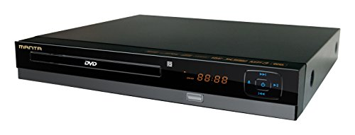 Manta DVD064S - Lettore DVD Emperor Basic 5, DivX, SCART, USB 2.0, colore: Nero