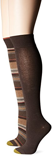 Gold Toe Women's Multi Stripe Knee Hi…