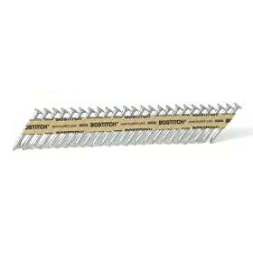Bostitch PT-MC13115-1M 1 1/2-Inch x .131 Paper Tape Collated Metal Connector Nails, 1000-Qty.