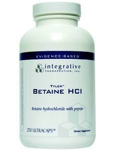 Integrative Therapeutics - Betaine Hcl 250 Caps front-748472