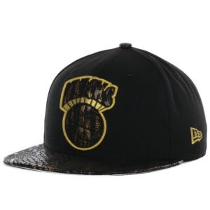 New Era 59Fifty Snakevize New York Knicks Black Fitted Cap by New Era
