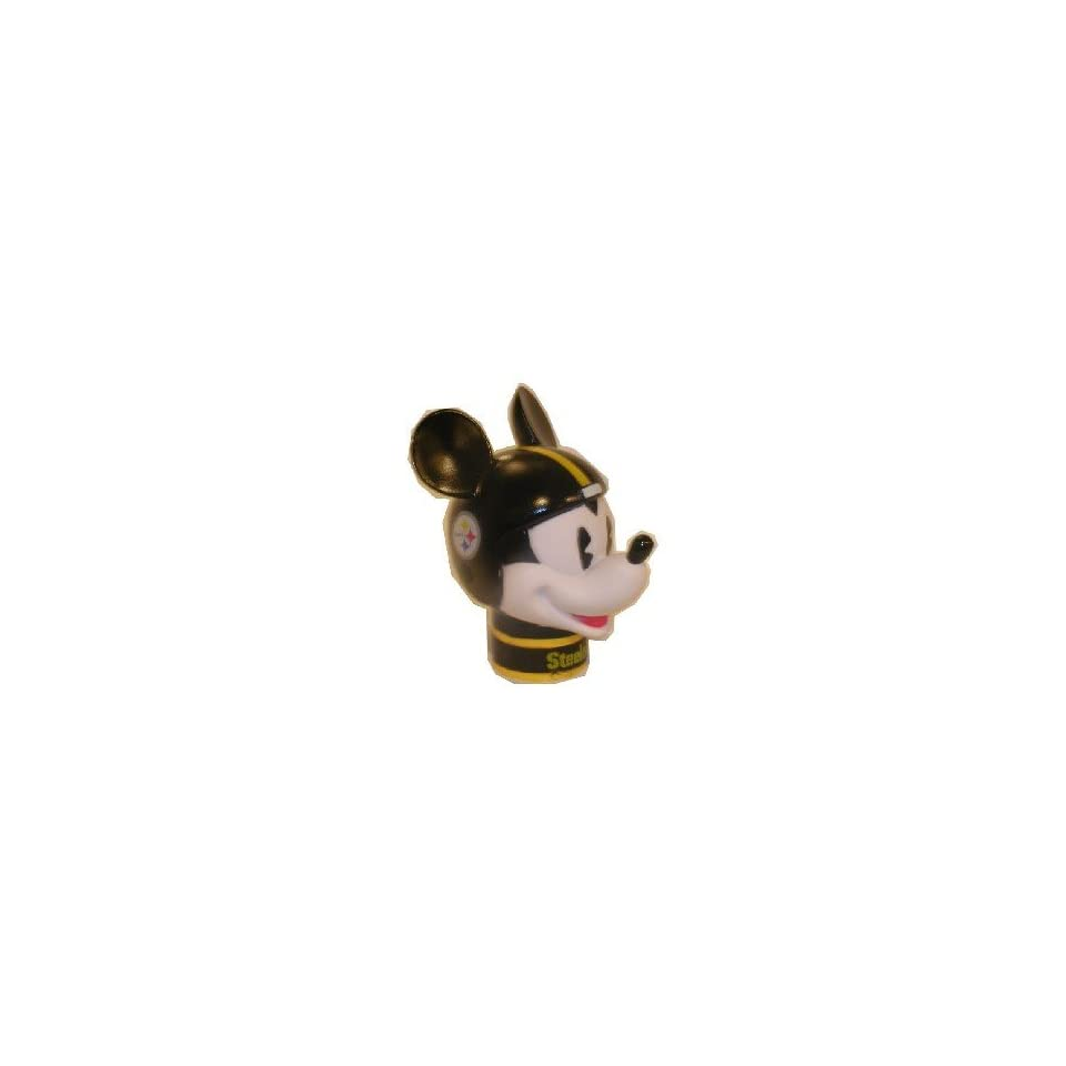 2 NFL PITTSBURGH STEELERS MICKEY MOUSE CAR ANTENNA TOPPER  Sports Related Merchandise  Sports & Outdoors