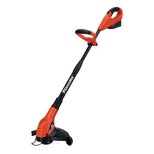 Black & Decker NST2018 GROOM 'N' EDGE 12-Inch 18-Volt Cordless Electric String Trimmer with 2 Batteries