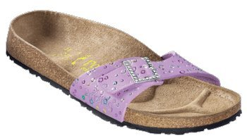 Cheap Papillio slippers Madrid in size 39.0 W EU made of Leather in Carnival Orchid with a regular insole (B004YHJG9G)