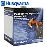 Husqvarna 531307180 Chain Saw Protective Apparel Powerkit, Professional