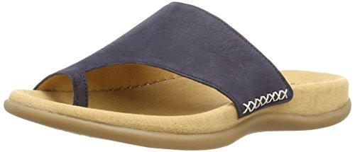 Gabor Shoes - Gabor, infradito  da donna, Blu(Blau (Nightblue)), 44