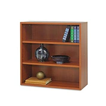 """Safco - Apr?S Open Bookcase Three-Shelf 29-3/4W X 11-3/4D X 29-3/4H Cherry """"Product Category: Office Furniture/Bookcases & Door Kits"""""""