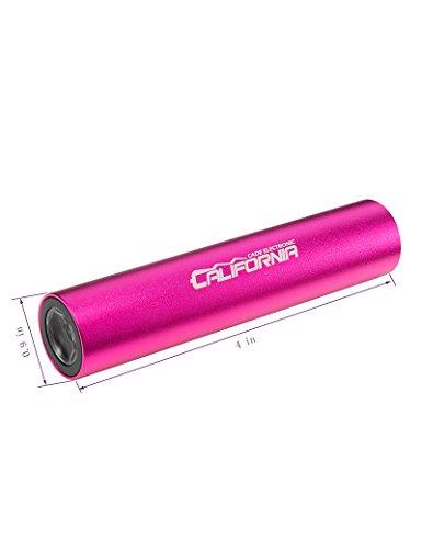 CALIFORNIA-CADE-ELECTRONIC-2600mah-Lipstick-Size-Power-Bank
