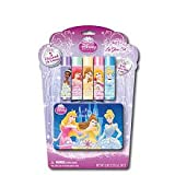 Disney Princess 5 Pack Lip Balm Jelly Set with Tin Carrying Case