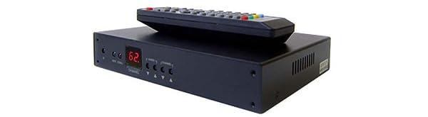 Professional RF Coax To HDMI DVI Demodulator TV Tuner For NTSC System