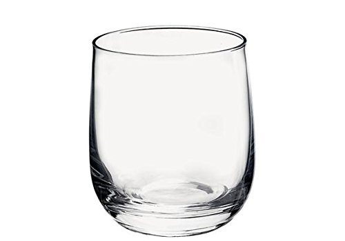 Bormioli Rocco 340730Q01021990 Set di 3 bicchieri da acqua Loto, 3 pezzi
