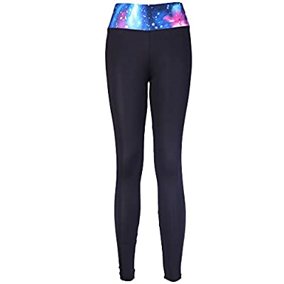 Miss Moly Colorful High Waist Fitness Yoga Sport Pants Printed Stretch Cropped Leggings