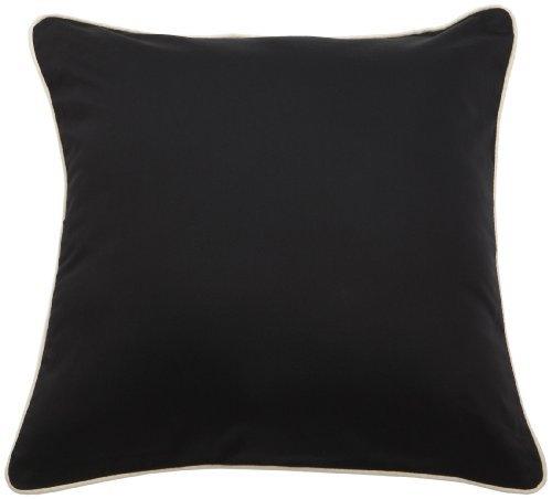 "Michael Kors Nairobi Ii Black 16"" Square Pillow"