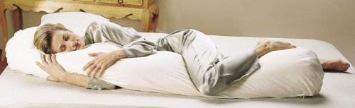 Teen Bean Body Pillow Staph Chek Shell, Hypoallergenic Fill and Pillowcase