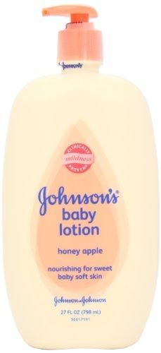 Johnson's Baby Lotion, Honey Apple, 27