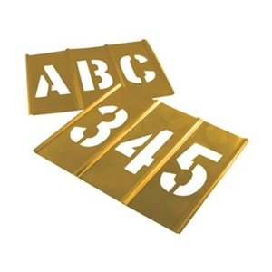 Stencil Set, Letters & Numbers, Brass coupon codes 2016