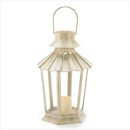 Gifts & Decor Graceful Garden Lantern Light Candle Holder Centerpiece