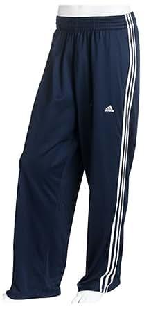 adidas Men's Double Up Mini-Mesh Pant,Dark Indigo/White/White,X-Large