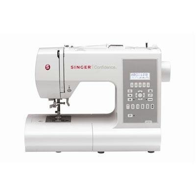 New Singer Sewing Co Confidence 225 Stitch Patterns 7 Fully Automatic 1-Step Buttonholes
