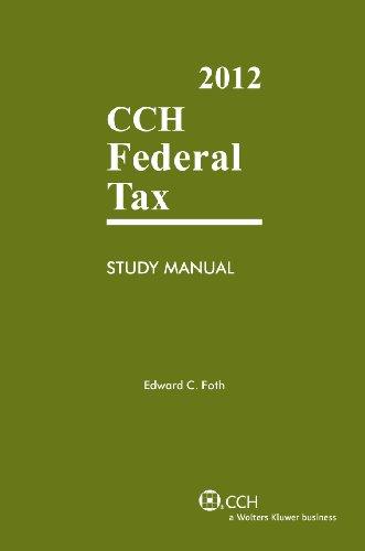 Federal Tax Study Manual (2012)